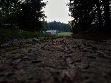 Cesta k táboru